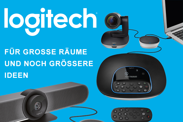 Logitech Collaboration Videokonferenzen