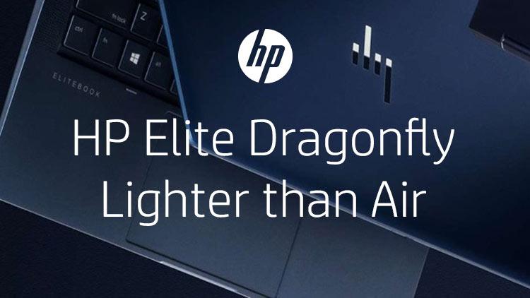 HP Elite Dragonfly – Lighter than Air