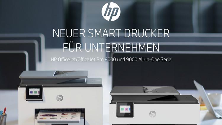Die smarten HP OfficeJet Pro Serien