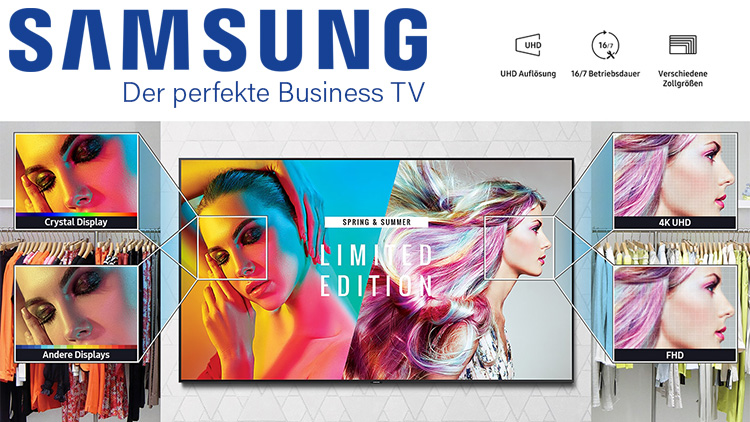 SAMSUNG Business TV