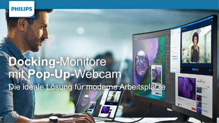 Philips Monitore - mit Pop-Up-Webcam