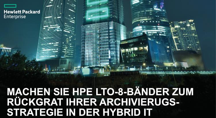 HPE LTO8