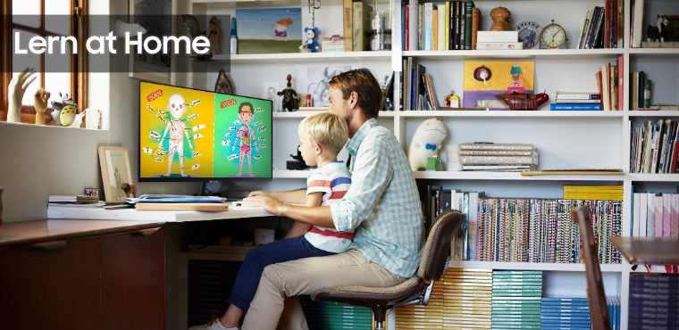 SAMSUNG - Learn at home