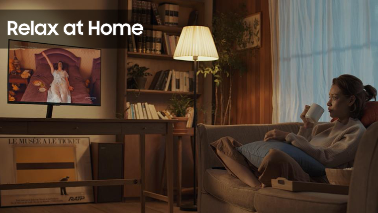 SAMSUNG - Relax at home
